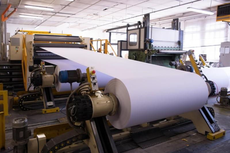Herstellung von Druckerpapier