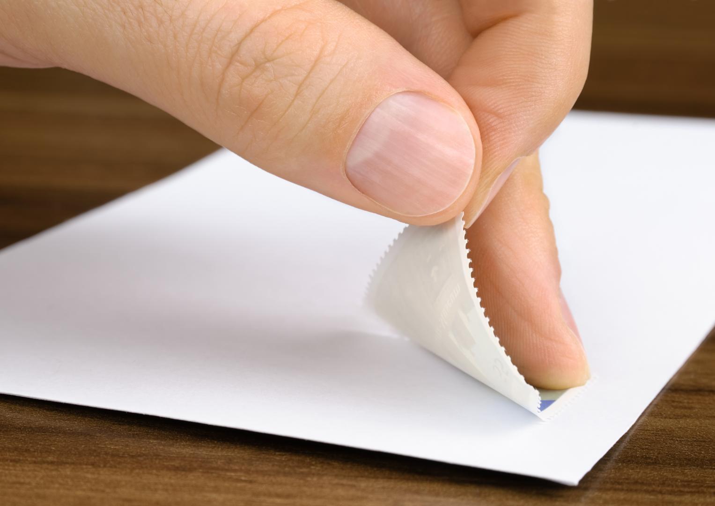 Brief frankieren
