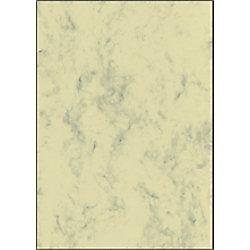 Sigel Designpapier DP372 DIN A4 90 g/m² Beige marmoriert 100 Blatt