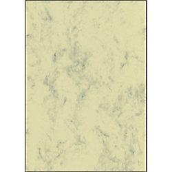 Sigel Designpapier DP397 DIN A4 200 g/m² Beige marmoriert 50 Blatt
