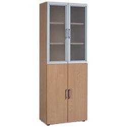Geramoebel Aktenschrank Speed Office Buche 800 x 420 x 2.160 mm S-386813-BU