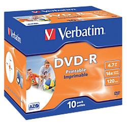 Verbatim DVD-R 4.7 GB 10 Stück 43521