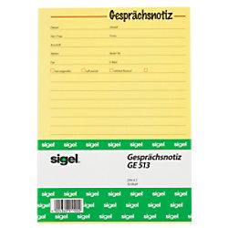 Sigel Gesprächsnotiz GE513 DIN A5