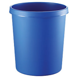 helit Papierkorb Polyethylen Blau 31 x 33,5 cm H6105834