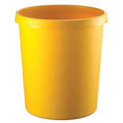 helit Papierkorb Polyethylen Gelb 33,5 cm H6105818