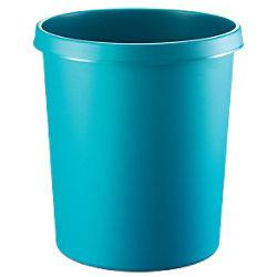 helit Papierkorb Polyethylen Grün 33,5 cm H6105852