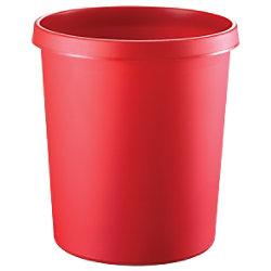 helit Papierkorb Polyethylen Rot 33,5 cm H6105825