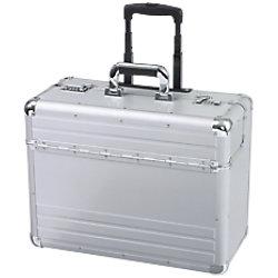 ALUMAXX Reisekoffer OMEGA 48 x 23 x 38,5 cm Silber 45122