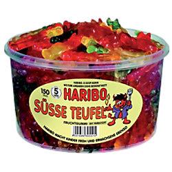 Haribo Fruchtgummi Süße Teufel 150 Stück à 8 g 10002284