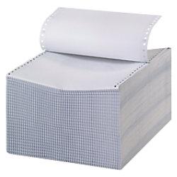 Niceday Computer-Endlospapier DIN A4+ 56/53/57 g/m² Längsperforation, 3-fach 240 mm x ca. 305 mm (12
