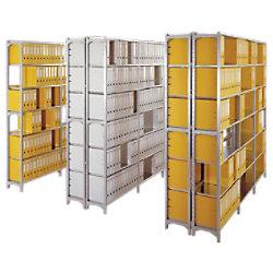Manuflex Grundregal 10 Silber 960 x 300 x 1.900 mm RA2081
