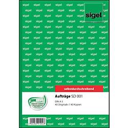 Sigel Auftrag SD001 DIN A5