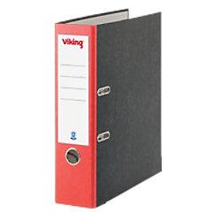 Viking Ordner 80 mm Karton 2 Ringe DIN A4 Rot 4718340