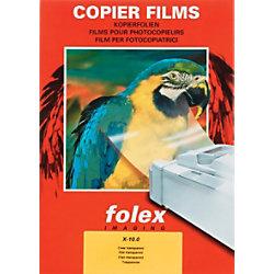 Folex Overhead-Folien X-10.0 DIN A4 Transparent 100 Blatt 3.91E+12