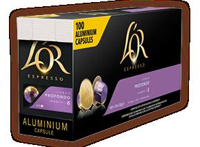 L'OR Koffie capsules