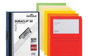 Büroartikel - Papiersichthüllen