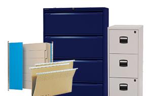Büroartikel - hängeregisterschrank & Hangemappen