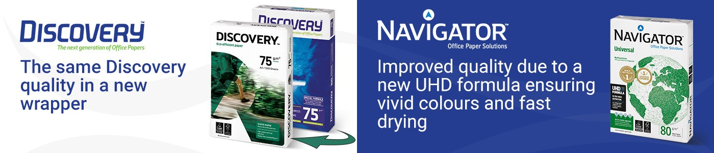 The same Discovery quality in a new wrapper - Navigaror Improved quality due to a new Ultra-HD formula ensuring vivid colours and fast drying