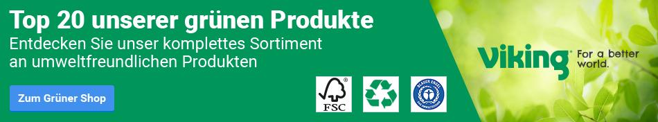 Top 20 unserer grünen Produkte
