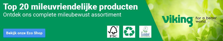 Top 20 milieuvriendelijke producten