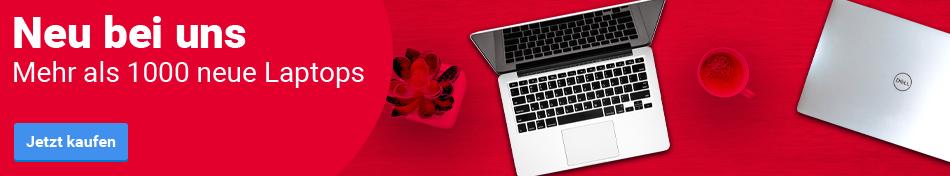 Neu bei uns! Mehr als 1000 neue Laptops