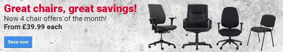 Great chairs, great savings