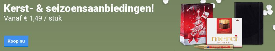 Kerst- & Seizoensaanbiedingen!