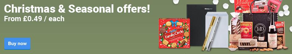 Christmas & Seasonal offers!