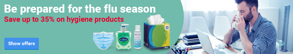 Be prepared for the flu season