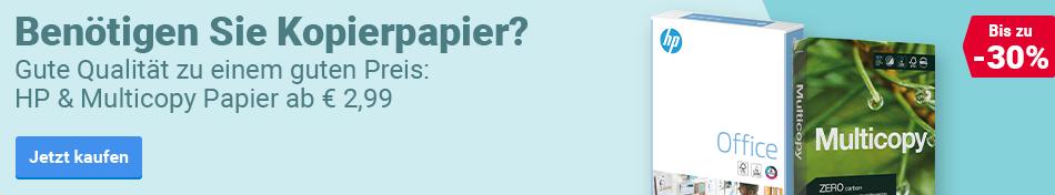 Benötigen Sie Kopierpapier?