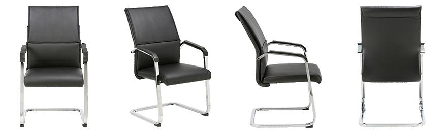 Chaise visiteur Realspace Crocus