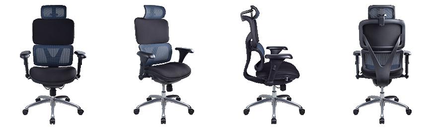 Fauteuil ergonomique WorkPro Nimbus Mécanisme synchrone