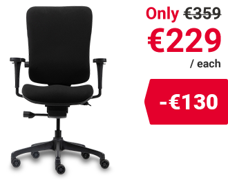 Realspace Basic Tilt Ergonomic Office Chair Venice