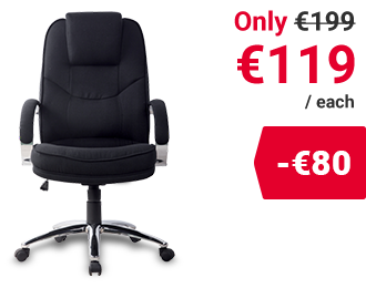 Realspace Basic Tilt Executive Chair Rome2