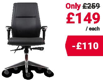 Realspace Synchro Tilt Ergonomic Office Chair London