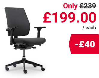 Realspace Ergonomic Office Chair Toulouse