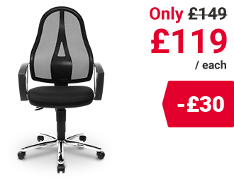 Topstar Operator Chair Open Point Deluxe