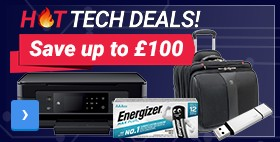 Save up to £ 100	HOT TECH DEALS	Best prices just a click away
