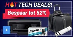 Bespaar tot 52%High-tech aanbiedingen Technologie producten tegen de laagste prijzen
