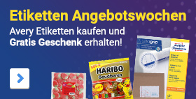 Etiketten Angebotswochen