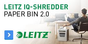 Leitz IQ-Shredder Paper Bin 2.0