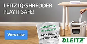 Leitz IQ-Shredder Play it safe!