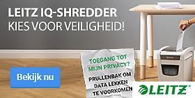 Leitz IQ-Shredder Kies voor veiligheid!