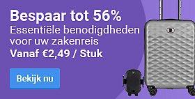 Bespaar tot 56% Essentiële benodigdheden voor uw zakenreis. Vanaf € 2,49 / Stuk