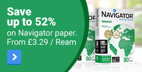 Save up to 52% on Navigator Paper