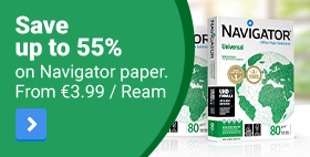 Save up to 55% on Navigator Paper