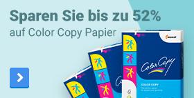 Sparen Sie bis zu 52% auf Color Copy Papier
