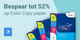 Bespaar tot 52% op Color Copy papier