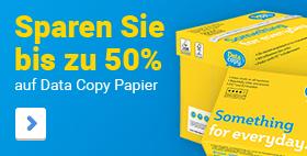 Sparen Sie bis zu 50% auf Data Copy Papier