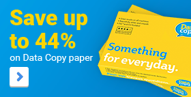 Save up to 44% on Data Copy paper